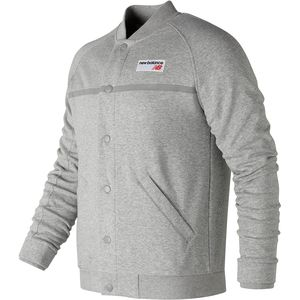 New Balance NB Athletics Snap Front Fleece - Men's