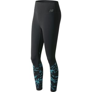 New Balance High Rise Printed Tight - Women's