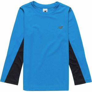 New Balance Athletic Fit Performance Long-Sleeve T-Shirt - Boys'