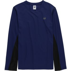 New Balance Basin Performance Long-Sleeve T-Shirt - Boys'