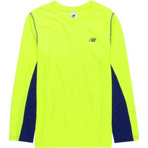 New Balance Firefly Performance Long-Sleeve T-Shirt - Boys'