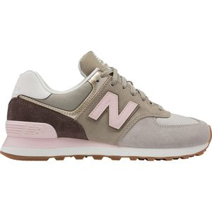 New Balance 574 Metallic Patch Shoe - Women's