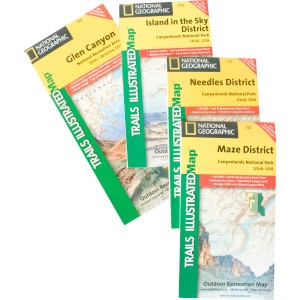 National Geographic Maps: Trails Illustrated Utah Rocky Mountain Maps