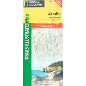 National Geographic Maps: Trails Illustrated Maine Maps