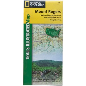 National Geographic Maps: Trails Illustrated Virginia Maps