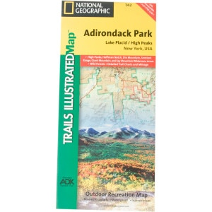 National Geographic Maps: Trails Illustrated New York Maps