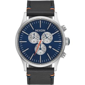 Nixon Sentry Chrono Leather Watch