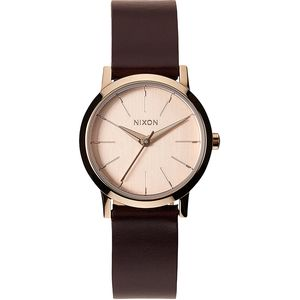 Nixon Kenzi Leather Watch - Women's