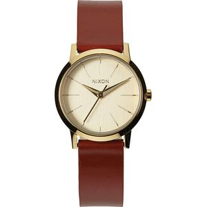 Nixon Kenzi Leather Watch - Mineral Collection - Women's