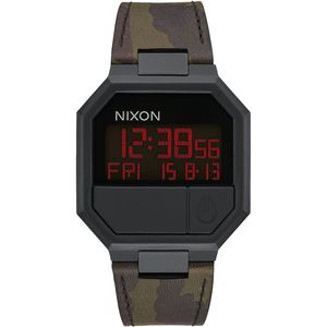 Nixon Re-Run Leather Watch