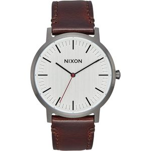 Nixon Porter Leather Watch