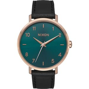 Nixon Arrow Leather Watch - Women's