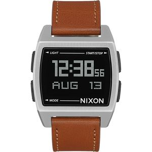 Nixon Base Leather Watch - Men's