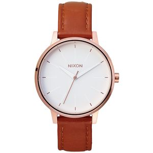 Nixon Kensington Leather Watch - Women's