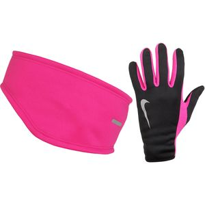 Nike Thermal Running Headband/Glove Set - Women's