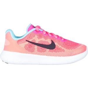 Nike Free Run 2 Pre-School Shoe - Little Girls'