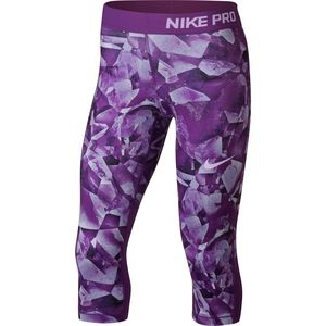 Nike Pro Cool Capri All Over Print - Girls'
