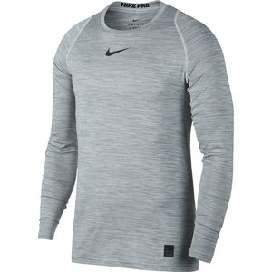 Nike NikePro Long-Sleeve Fitted Heather Top - Men's