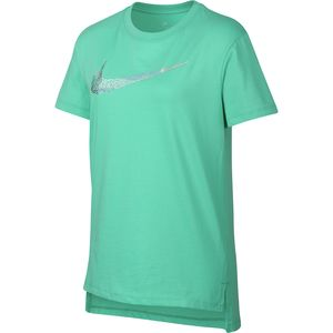 Nike Sportswear Squiggle Swoosh Short-Sleeve T-Shirt - Girls'