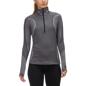 Nike Pro HyperWarm Long-Sleeve 1/2-Zip Top - Women's