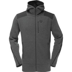 Norrøna Tamok Warm/Wool2 Hooded Fleece Jacket - Men's