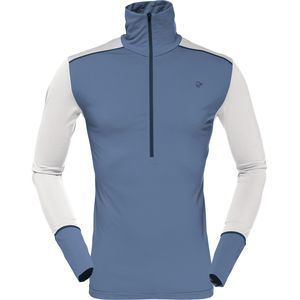 Norrona Wool Zip Neck Top - Men's