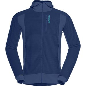 Norrøna Lofoten Alpha Raw Hooded Fleece Jacket - Men's