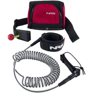 NRS Stand-Up Paddleboard Leash with Quick-Release Bag