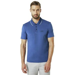 Oakley Ribbed Details Short-Sleeve Polo Shirt - Men's