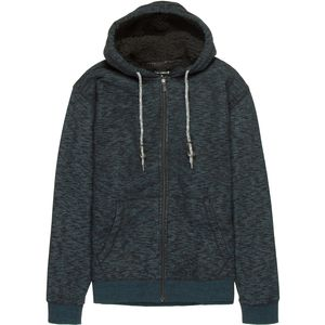 Ocean Current Moraccan Sherpa Full-Zip Hooded Jacket - Men's