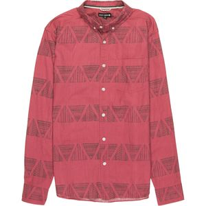 Ocean Current Synopsis Stripe Novelty Shirt - Men's