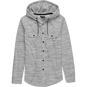 Ocean Current Button-Up Hoodie - Men's