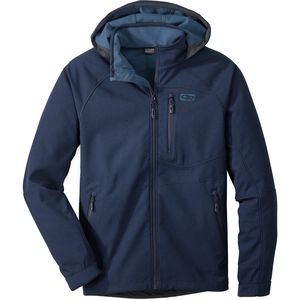 Outdoor Research Deadbolt Hooded Softshell Jacket - Men's