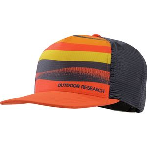 orange. Outdoor Research Paddle Performance Trucker Hat 25edc6fdfd55