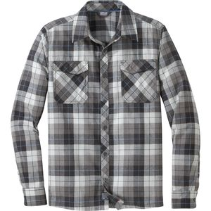 Outdoor Research Tangent II Long-Sleeve Flannel Shirt - Men's