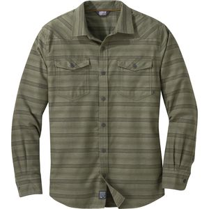 Outdoor Research Pilchuck Long-Sleeve Flannel Shirt - Men's