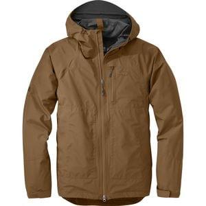 Brown Men&39s Rain Jackets &amp Coats | Backcountry.com