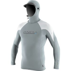 O'Neill O'Zone Crew Rashguard with Hood - Men's