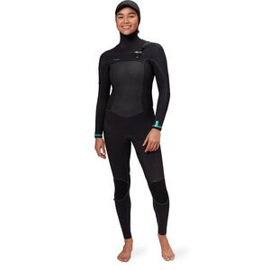 O'Neill Psycho Tech 5.5/4+mm Hooded Chest-Zip Full Wetsuit - Women's