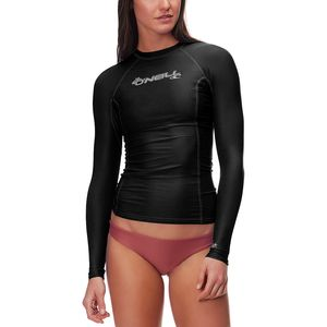 O'Neill Basic Skins Crew Long-Sleeve Rashguard - Women's