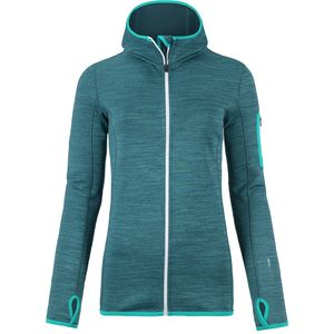 Ortovox Merino Melange Hooded Fleece Jacket - Women's