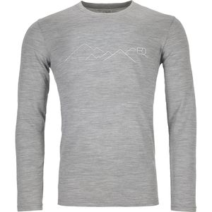 Ortovox 185 Merino Mountain Long-Sleeve Baselayer - Men's