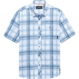 Orvis Aerated Plaid Short-Sleeve Camp Shirt - Men's