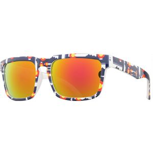 Optic Nerve Colorado Flag Polarized Sunglasses