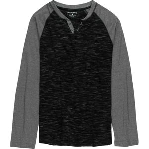 Overdrive Two Button Henley Shirt - Men's