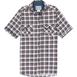Overdrive Plaid Short-Sleeve Shirt - Men's