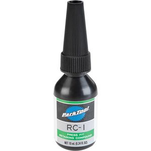 Park Tool Green Press Fit Retaining Compound: 10 ml. bottle