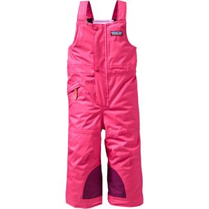Snow Pile Bib Toddler Girls