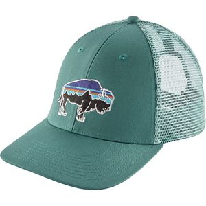 9b33784b856c02 Patagonia Fitz Roy Bison LoPro Trucker Hat | Backcountry.com