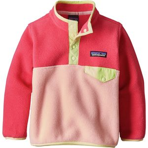 Patagonia Lightweight Synchilla Snap-T Fleece Pullover - Toddler Girls'